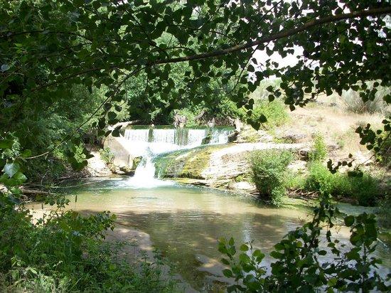 Hotel Molino Del Puente Ronda: In the gardens