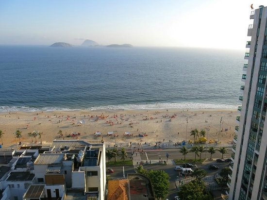 Ipanema Plaza Hotel: View from the rooftop
