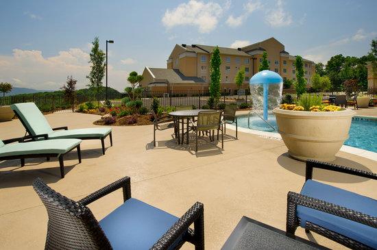 Hampton Inn Chattanooga West/Lookout Mountain : Outdoor Pool