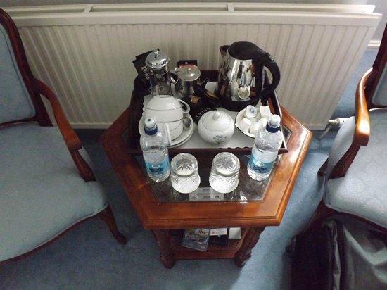 Bryn Derwen: The generous refreshments tray