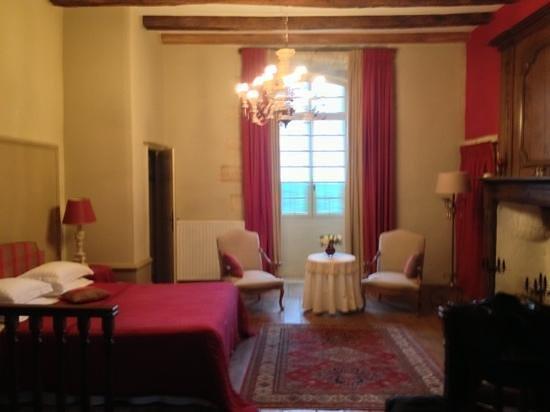 Le Prieure du Chateau de Biron : A magical room