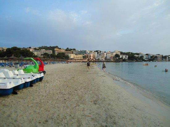 Ona Surfing Playa: Fag end beach Santa Ponsa