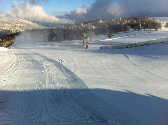 Markstein, Frankrike: Une préparation de pistes toujours au top pour le plus grand bonheur des skieurs !