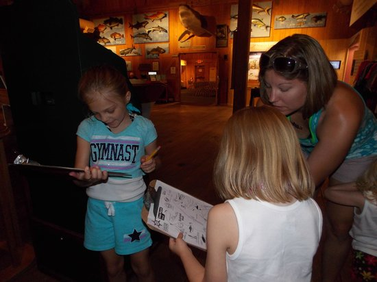 North Carolina Maritime Museum : Checking off our scavenger hunt list.