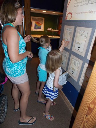 North Carolina Maritime Museum: Viewing some of the displays.