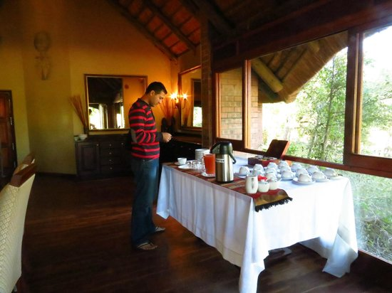 Imbali Safari Lodge: Hi tea