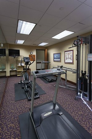 The Cook Hotel and Conference Center at LSU: Fully-Equipped Fitness Center