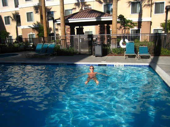 Staybridge Suites Palmdale: Great pool in a nice backyard