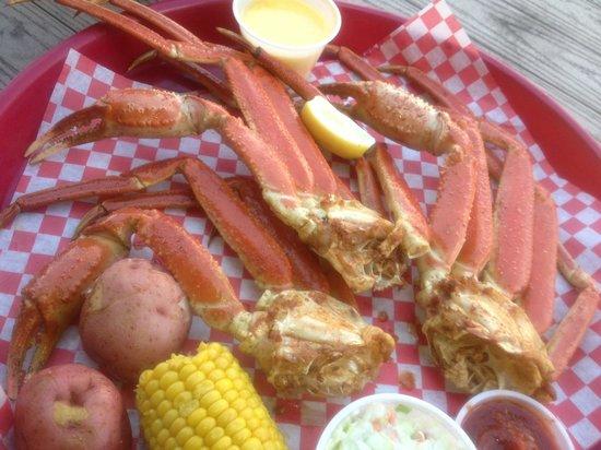 Cajun Tex: snow Crabs