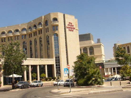 Leonardo Plaza Hotel Jerusalem: View of Leonardo from the front