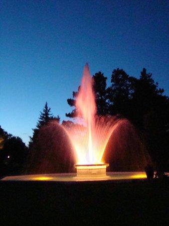City of Alliance Central Park Fountain