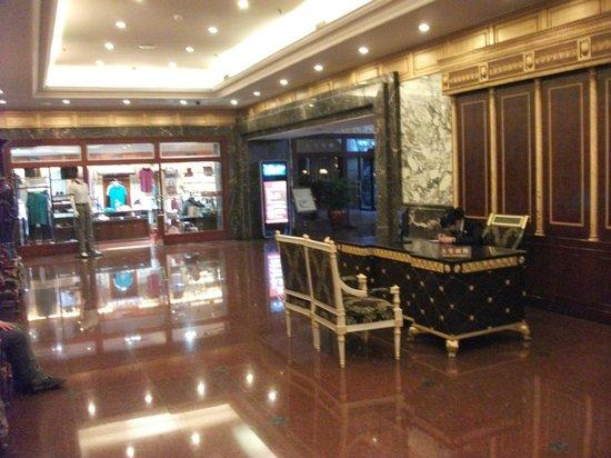 Shijiazhuang International Building Hotel: Lobby