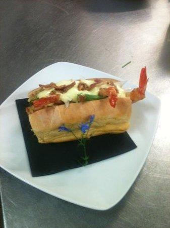 """L'Articiocca: """"Hot dog"""" di gamberi rossi!"""