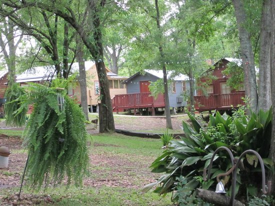 Bayou Cabins: Godfather's House, Nanny's Wash house, Cypress Hideaway