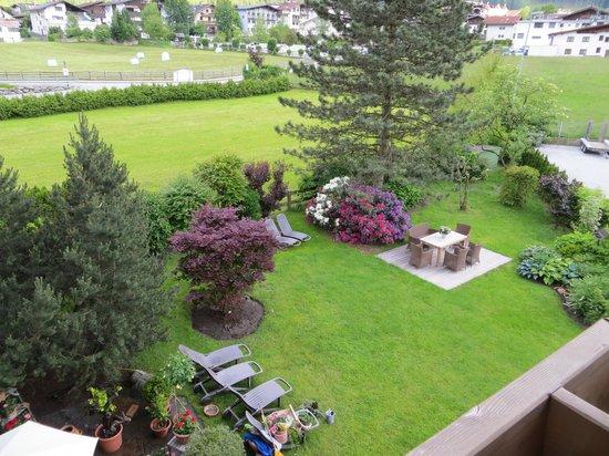 Hotel Garni Glockenstuhl: der Garten