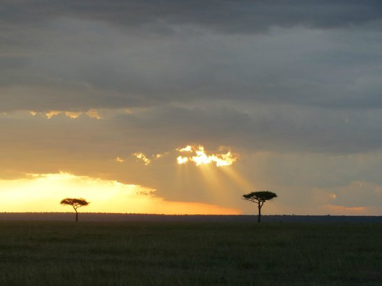 Neptune Mara Rianta Luxury Camp: Masai Mara sunset