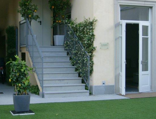 Hotel di Varese: entrée extérieure