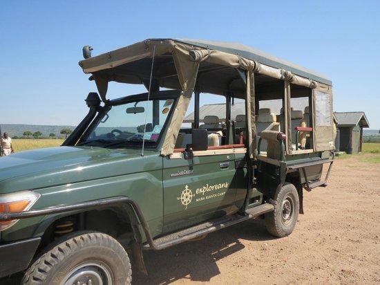 Neptune Mara Rianta Luxury Camp: Great jeep for game drive