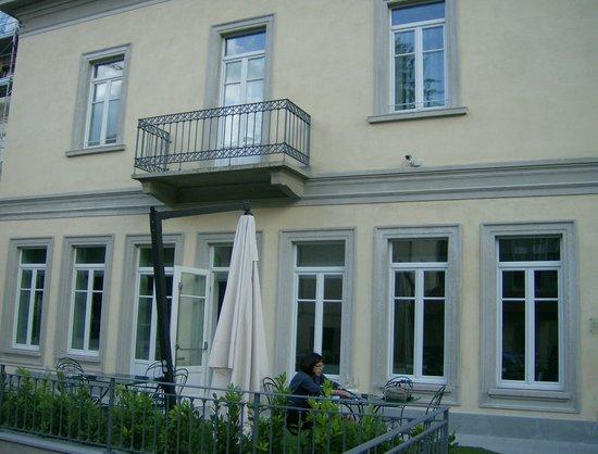 Hotel di Varese: façade intérieure