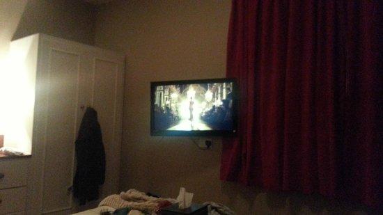 Hinton Firs Hotel: Plasma screen