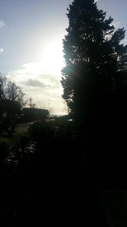Hinton Firs Hotel: View from room - sea front