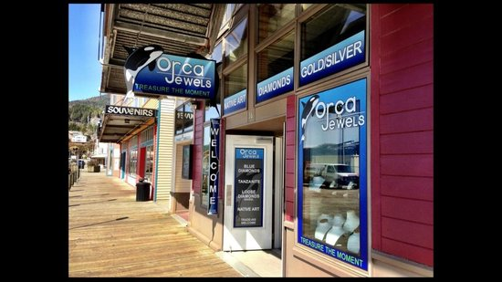 The Best Jewelry Store Review Of Orca Jewels Ketchikan Ak Tripadvisor