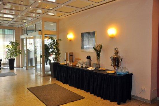 Hotel Excelsior : Café e chá grátis no lobby do hotel