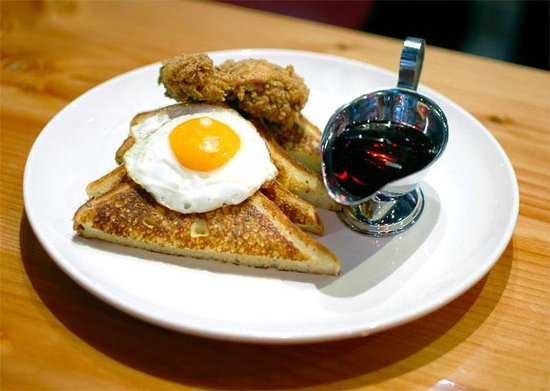 Fets Whisky Kitchen: Southern Fried Chicken & Rosemary French Toast