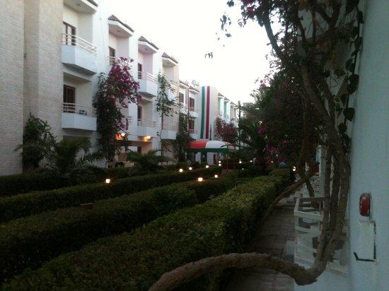 MinaMark Beach Resort : Path to main hotel