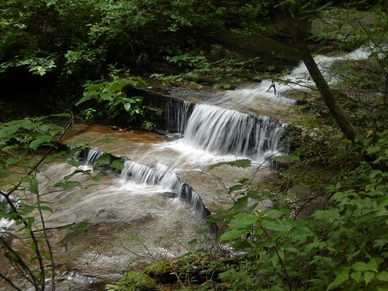 Table Rock State Park: At the end of Table Rock Trail