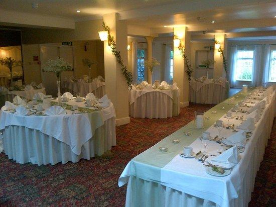 Bridge Hotel: The reception room/ Wedding breakfast