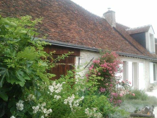 La Pinsonnière: maison fleurie