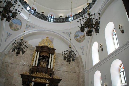 Interior of Hurva synagogue