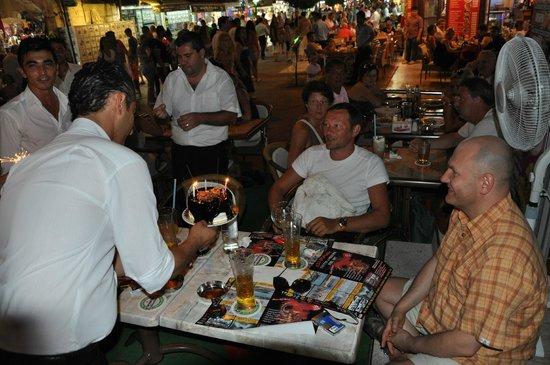 "Dedem K. Restaurant : 19 june 2012 my birthday present "" a cake to remember """