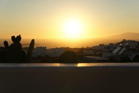 Milena Hotel: Il panorama dalla terazza