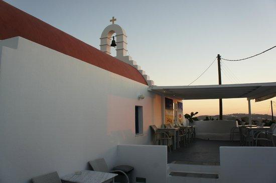Milena Hotel: la terrazza