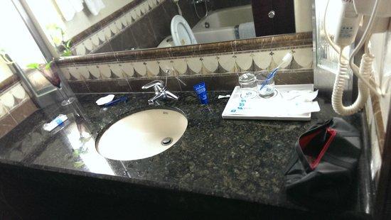 Tianyi Hotel: bathroom sink