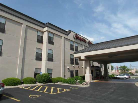 Hampton Inn Corydon: On arrival