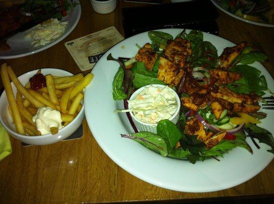 The Jube: Cajun chicken salad-yum yum!