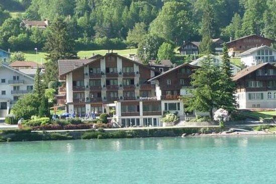 Seehotel Bonigen : Seehotel from Lake Brienz