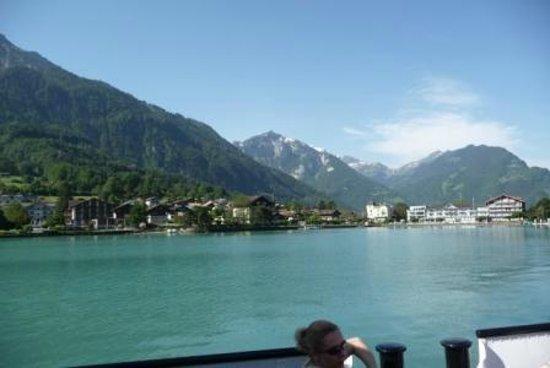 Seehotel Bönigen: Boenigen from Lake Brienz