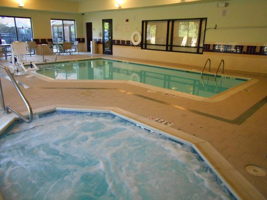 SpringHill Suites Morgantown: Relax in our indoor whirlpool spa or take an invigorating swim in our indoor heated pool.