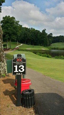 University of Georgia Golf Course: #13
