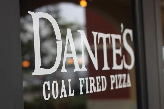 Dante's Coal Fired Pizza: Dante's Location