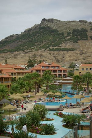 Pestana Porto Santo All Inclusive: Looking north from Sunset Bar