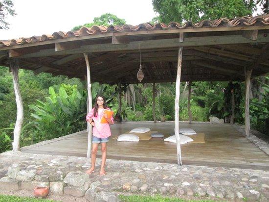 Hacienda San Lucas: Place for meditation and yoga