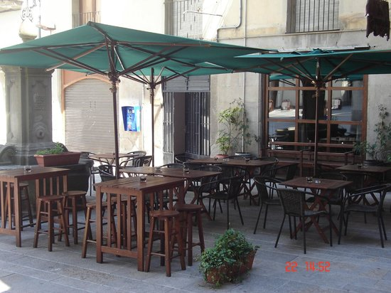 La taverneta : la terraza