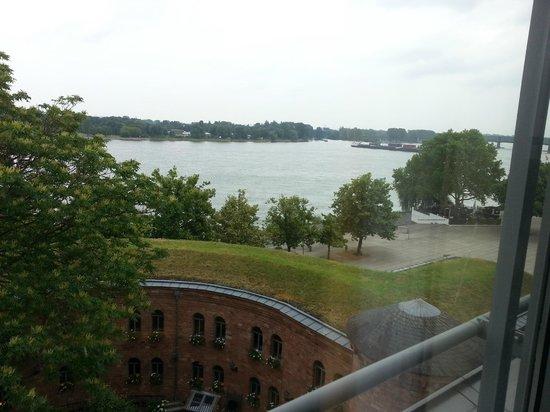 Hyatt Regency Mainz: View of the Rhine from the room