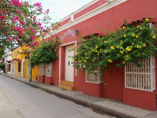 Casa Relax Bed & Breakfast : Casa Relax in Getsemani, Cartagena.
