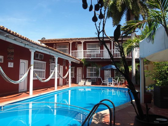 Casa Relax Bed & Breakfast : The pool at Casa Relax in Getsemani, Cartagena.
